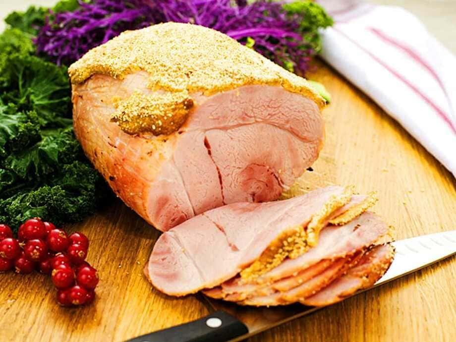 Traditionellt kokt julskinka